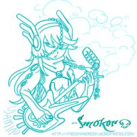 Smoker's Voitar by Yamino