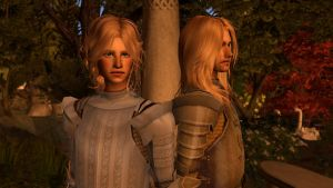 Brienne and Jaime...Simmified. by Morrigan22