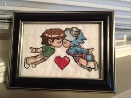 Scott Pilgrim - Cross-Stitch by ktkat42