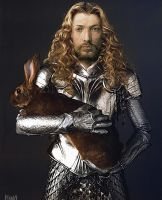 Durer bunny by MadHatters-Wife