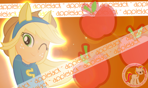 Applejack Rocks By Atheneas 971 by atheneas971