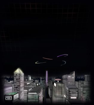 Over Central City Tower - Black Label by CentralCityTower