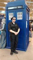 Niagara Falls Comicon - Doctor Who Exibit (2) by TheWarRises