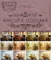 Cookie Photoshop Actions by catchingfyre
