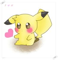 lovely pikachu by fly-and-love