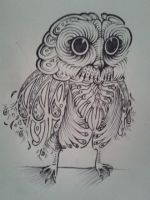 Psychedelic Owl - Original 2 Full by SqueezeBoxx