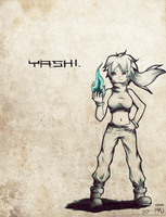 Yashi for Nyshin by MadMetroid