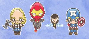chibi ultimates by marisolivier