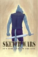 SKETCH WARS poster by dmonster