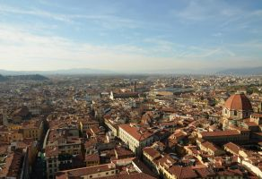 Florence landscape by Trynnie