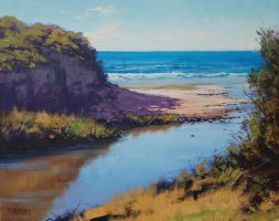 View from Great Ocean Road, Vic by artsaus