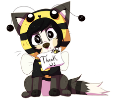 Thank you ! ! by Artistry-Shinx