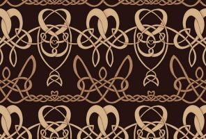 Celtic pattern by ynne-black