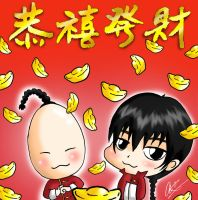 KHR: Happy Chinese New Year by AmenoKitarou