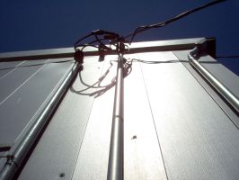 Electric wire in conduit by DavidDDay