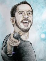 Mike Shinoda by skepticmeek