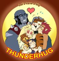 THUNDERHUG by Cofie