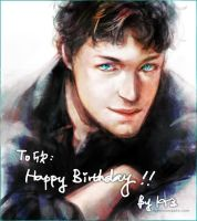 James McAvoy by Haining-art