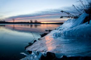Ice Shelf II by MarshallLipp