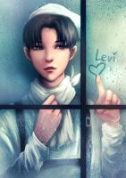 Levi cleaning your windows? by E-tane