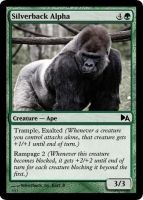 Silverback Alpha by WoodenOx