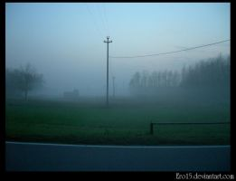 fog on my way back to home by Ero15