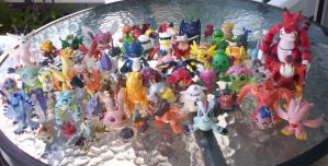 Digimon Figures by agataylor