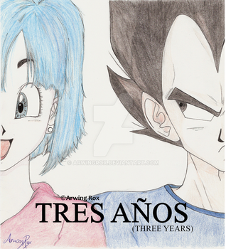 'Three Years': my doujin cover by ArwingRox