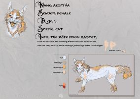 Ref Sheet: .aeStiVa. by Snow-Body