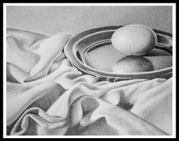 egg still life by pitschke