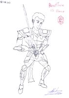 The Old Republic Benet Torius (Sketch) by TonyToriusImages