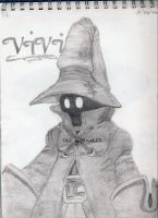 Vivi from FFIX by y3nd0