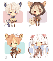 [CLOSED] ADOPT 5 by Minn-Adoptables