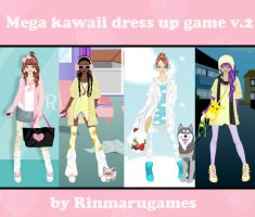 Mega Kawaii dress up game V.2 by Rinmaru