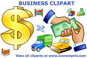 Business Clipart by Ikont
