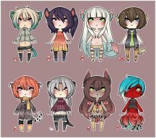 Mini Kemonomimi Adopts [CLOSED] by WanNyan