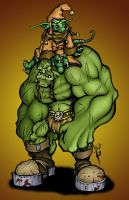 skulljammer's OrcGoblin Colour by GH-MoNGo
