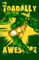 Toadally awesome Toad by Ahrrr