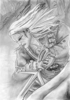 Geralt of Rivia by luckynumberslvn