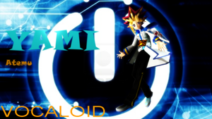 Yami (Atemu) Cosplays as KAITO VOCALOID by GumiCandy