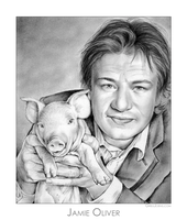 Jamie Oliver by gregchapin