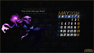 League of Legends Calender 2014 - May by CreateMyIntro