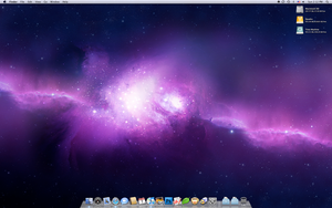 My Mac's June Desktop by yc
