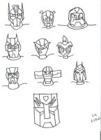 Autobot Head Count by CHCHcartoons