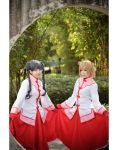 Sakura n Tomoyo - cardcaptor sakura by Bakasteam