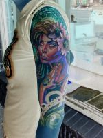 negative passion girl 3 by tattooneos