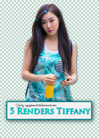 [010815]5 Renders Tiffany by nguyetsone2