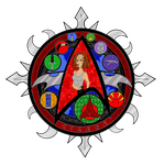 Stained Glass: B'Elanna Torres by LizzyChrome