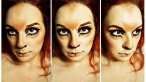 Makeup: What Does The Fox Say? by Khdd