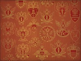 Russian heraldry by Legartis